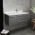 Gray Right Cabinet w/ Top & Sink Angle View