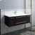 "42"" Espresso Cabinet w/ Top & Sink"