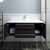 """42"""" Espresso Cabinet w/ Top & Sink Opened View"""