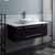 "42"" Espresso Base Cabinet w/ Top & Sink"