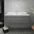 """42"""" Gray Cabinet w/ Top & Sink Front View"""