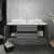 """42"""" Gray Cabinet w/ Top & Sink Opened View"""
