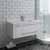 "42"" White Cabinet w/ Top & Sink"