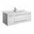 "42"" White Cabinet w/ Top & Sink White Background"