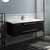 "48"" Espresso Cabinet w/ Top & Sink"