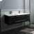 """48"""" Espresso Cabinet w/ Top & Sinks"""