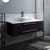 "48"" Espresso Base Cabinet w/ Top & Sink"