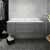 """48"""" Gray Cabinet w/ Top & Sink Front View"""