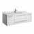 "48"" White Cabinet w/ Top & Sink White Background"
