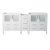 "Fresca Torino 72"" White Modern Vanity Base Cabinets, 71-1/2"" W x 17-3/4"" D x 33-3/4"" H"