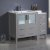 """42"""" Gray Vanity Cabinets w/ Integrated Sink"""