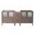 """Fresca Torino 83"""" Gray Oak Modern Vanity Base Cabinet, 83"""" W x 17-3/4"""" D x 33-3/4"""" H"""