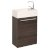 Gray Oak Vanity Cabinet w/ Sink Top Product View