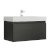 Black Vanity Cabinet w/ Sink Top Product View