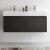Black Vanity Cabinet w/ Sink Top View 2