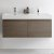 Gray Oak Vanity Cabinet w/ Sink Top View 3