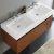 Teak Vanity Cabinet w/ Sink Top View 1
