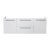 "Fresca Opulento 54"" White Modern Double Sink Cabinet, 54"" W x 18-5/8"" D x 19-1/4"" H"