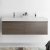 Gray Oak Vanity Cabinet w/ Sink Top View 2