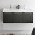 Black Vanity Cabinet w/ Sink Top View 1