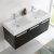Black Vanity Cabinet w/ Sink Top View 2