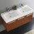 Teak Vanity Cabinet w/ Sink Top View 2