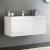 White Vanity Cabinet w/ Sink Top
