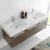 Gray Oak Vanity Cabinet w/ Sink Top View 2