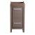 """Fresca Allier 16"""" Gray Oak Modern Vanity Base Cabinet, 15-3/4"""" W x 15-3/4"""" D x 32-3/4"""" H"""