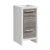 """Fresca Allier Rio 16"""" Ash Gray Modern Bathroom Cabinet, Cabinet Base: 15-3/4"""" W x 15-3/4"""" D x 32-3/4"""" H"""