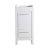 "Fresca Allier 16"" White Modern Vanity Base Cabinet, 15-3/4"" W x 15-3/4"" D x 32-3/4"" H"