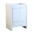 """Allier 24"""" White Product View"""