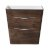 "Fresca Milano 32"" Rosewood Modern Vanity Base Cabinet, 31-1/2"" W x 20-1/2"" D x 31-1/4"" H"