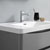 """24"""" Glossy Gray Cabinet with Sink Top"""