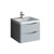 """24"""" Glossy Gray Cabinet with Sink Product View"""