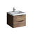 """24"""" Rosewood Cabinet with Sink Product View"""