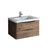 """32"""" Rosewood Cabinet with Sink Product View"""