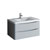 """36"""" Glossy Gray Cabinet with Sink Product View"""