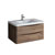 """36"""" Rosewood Cabinet with Sink Product View"""