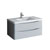 """40"""" Glossy Gray Cabinet with Sink Product View"""