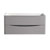 """40"""" Glossy Gray Cabinet Only Front View"""
