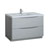 Glossy Gray Single Cabinet with Sink Product View