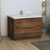 Rosewood Single Cabinet with Sink Side View