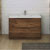 Rosewood Single Cabinet with Sink Front View