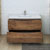 Rosewood Single Cabinet with Sink Drawers Open