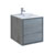 "24"" Ocean Gray Cabinet with Sink Product View"