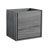 "24"" Ocean Gray Cabinet Only Side View"
