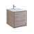 "24"" Rustic Natural Wood Cabinet with Sink Product View"