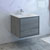 "30"" Ocean Gray Cabinet with Sink Side View"