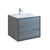 "30"" Ocean Gray Cabinet with Sink Product View"